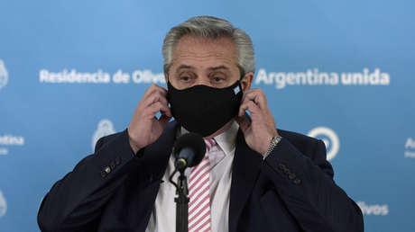 """Alberto Fernández a poco de iniciarse la vacunación con Sputnik V en Argentina: """"Hay una guerra comercial en torno a las vacunas contra el covid-19"""""""