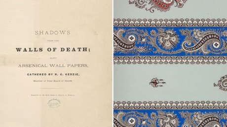 'Sombras de los muros de la muerte: hechos e informaciones que preceden a un libro de muestras de papel tapiz arsenical'