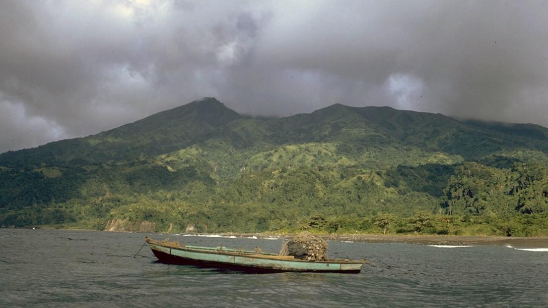 Volcán La Soufrière