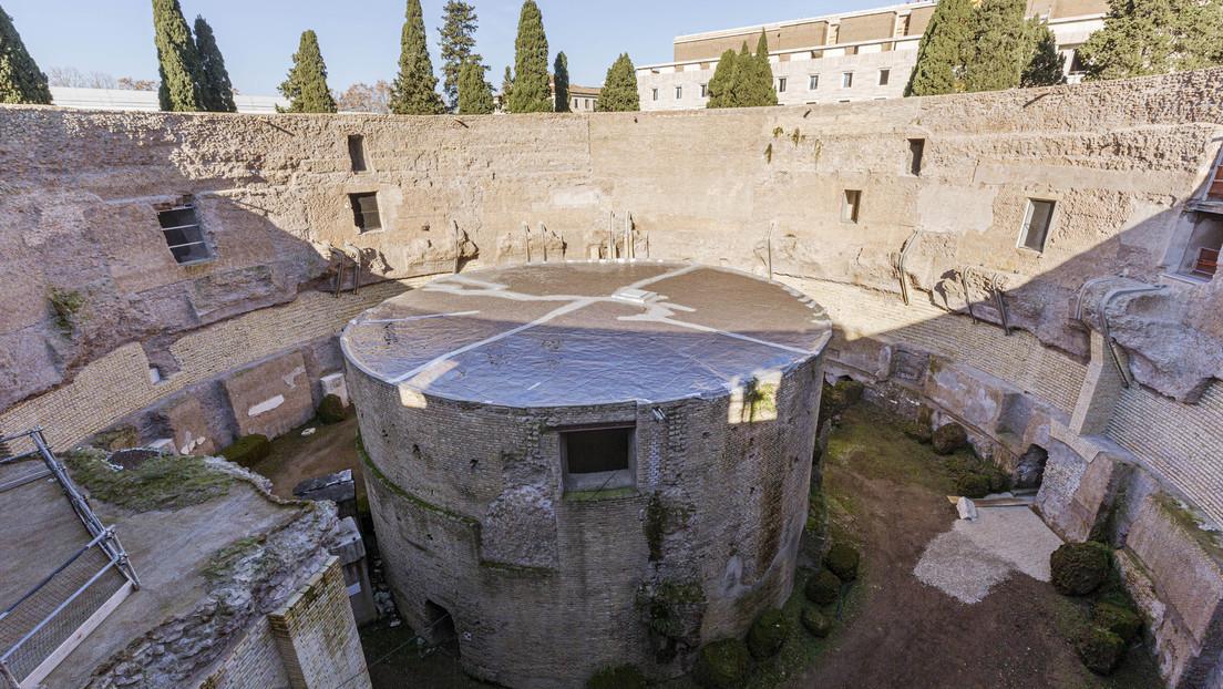 Termina la restauración del mausoleo de Augusto en Roma