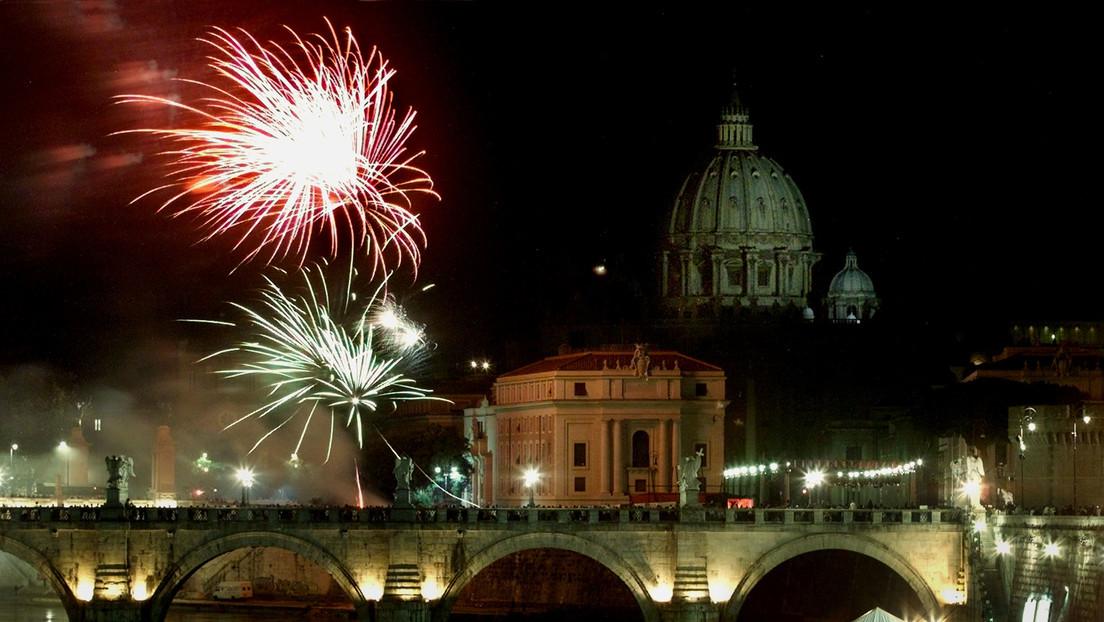 Cientos de aves mueren en Roma durante las celebraciones de inicio de año