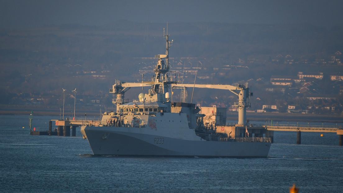 Londres envía 4 buques militares al canal de la Mancha en aparente advertencia a barcos pesqueros de Francia poco antes de entrar en vigor el Brexit