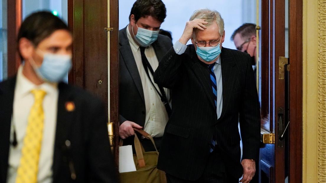 Vandalizan las casas de los líderes del Congreso de EE.UU. por la incapacidad de acordar las ayudas por la pandemia