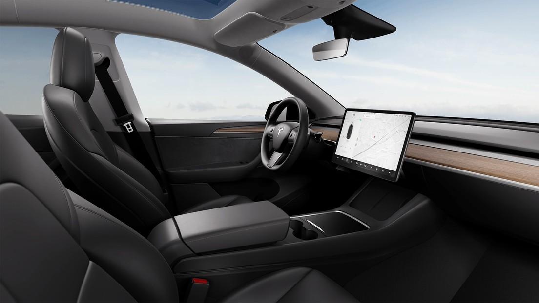 FOTOS: Así luce el interior actualizado de los Model Y de Tesla