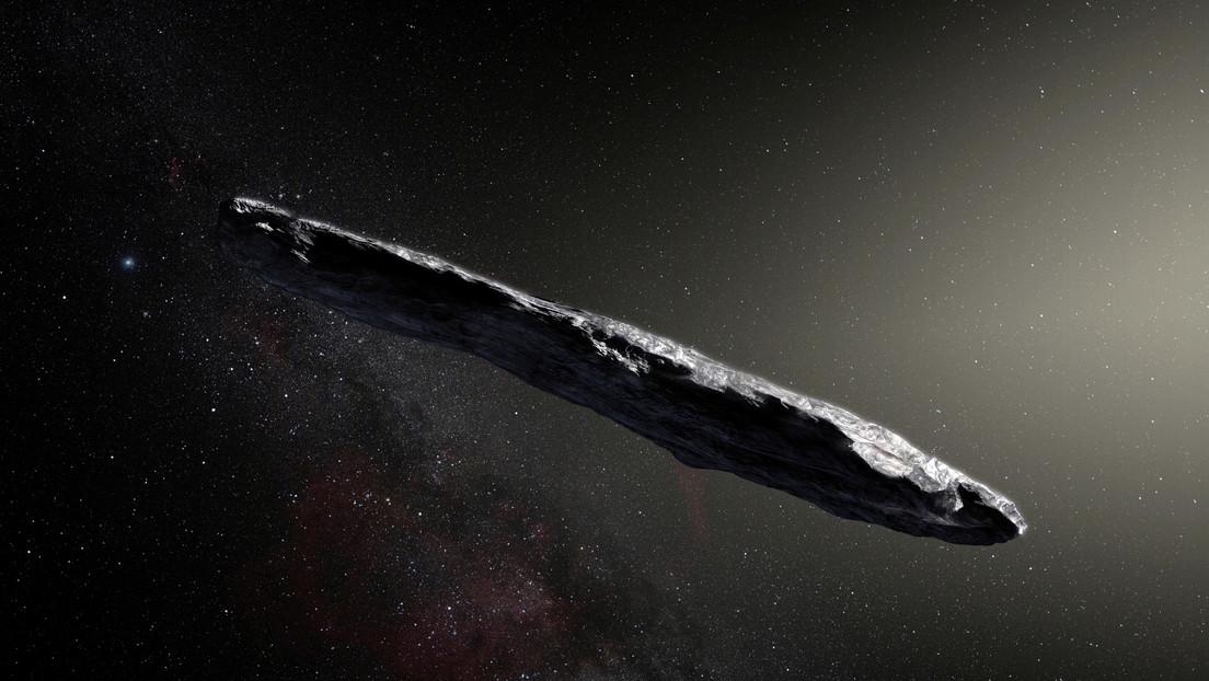 """El asteroide Oumuamua es """"tecnología alienígena avanzada"""", insiste el principal astrónomo de Harvard"""