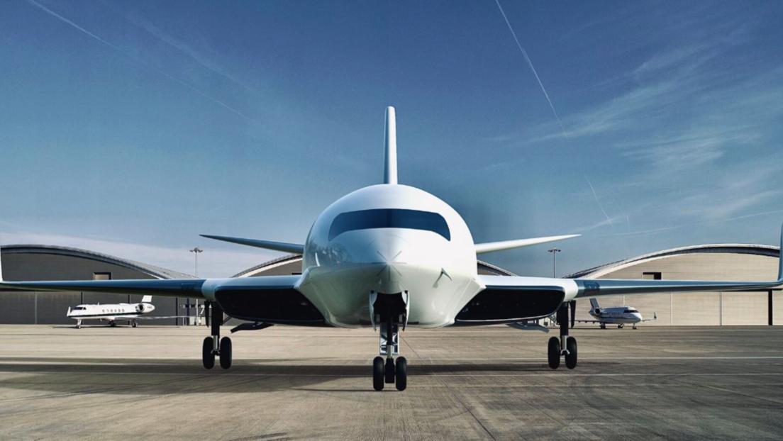 FOTO: Así es el Eather One, el avión eléctrico que podría funcionar gracias a la fricción de las alas durante el vuelo