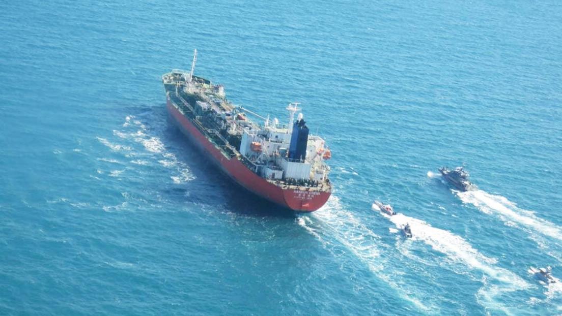 Irán reconoce que incautó un petrolero de bandera surcoreana en el estrecho de Ormuz