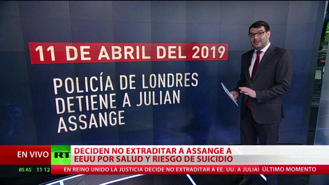 Los momentos claves del caso de Assange y WikiLeaks
