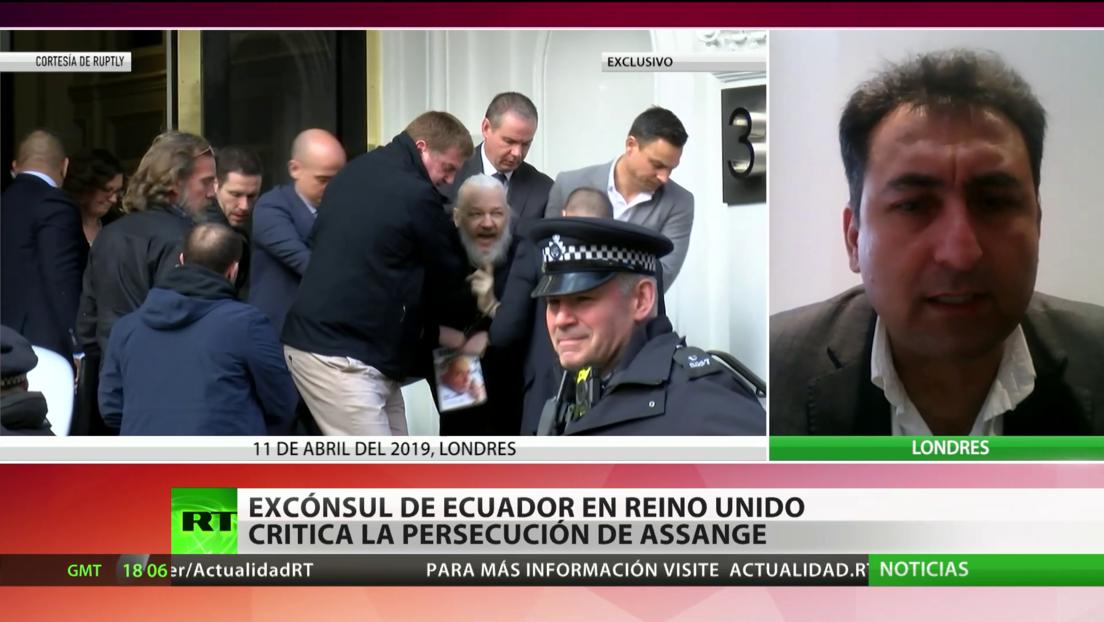 Excónsul de Ecuador en Reino Unido critica la persecución de Julian Assange