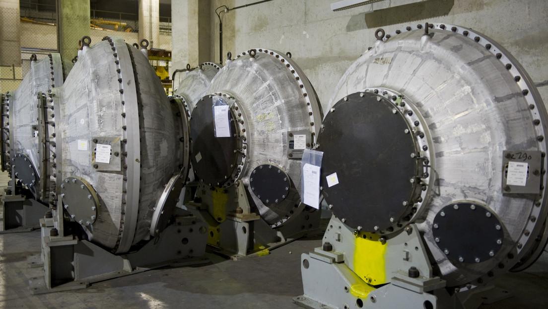 Irán prepara 1.000 centrifugadoras para la producción de uranio