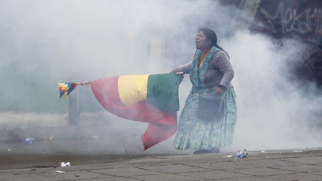 Mujer boliviana que participó en las protestas contra el gobierno de facto y aparece en una icónica fotografía denuncia usurpación de su imagen