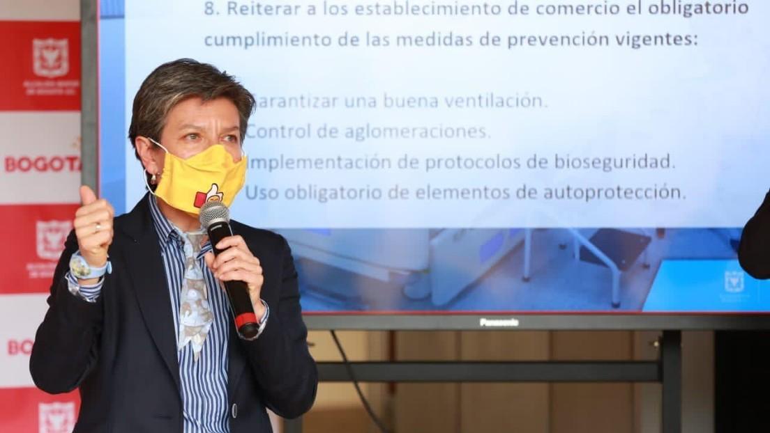 La alcaldesa de Bogotá regresa anticipadamente de sus vacaciones en Costa Rica tras la polémica que generó su partida