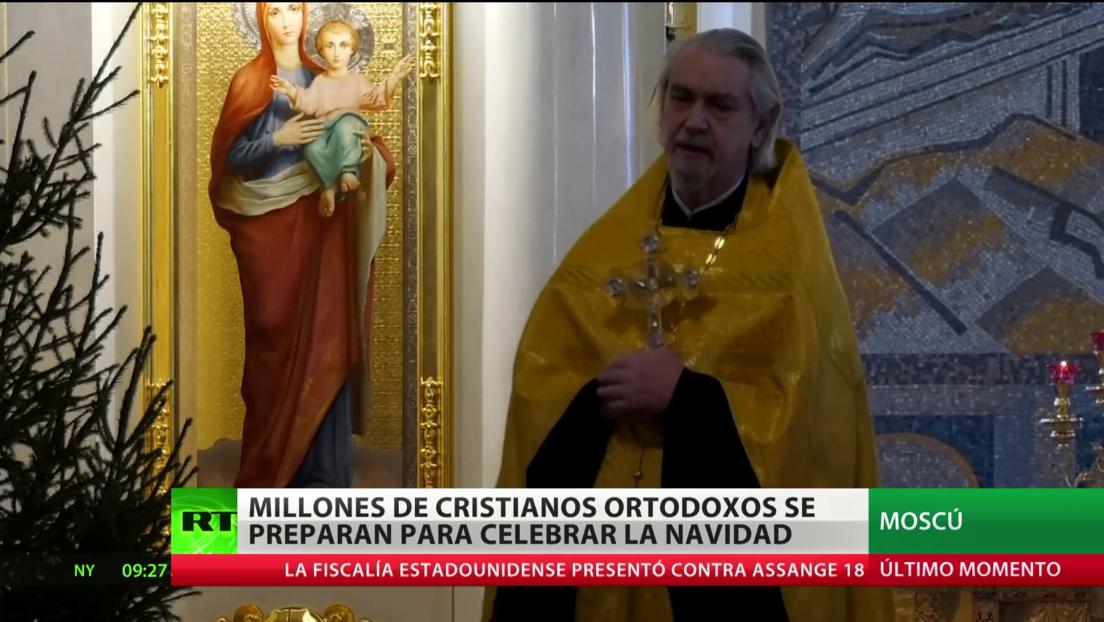 Millones de cristianos ortodoxos se preparan para celebrar la Navidad
