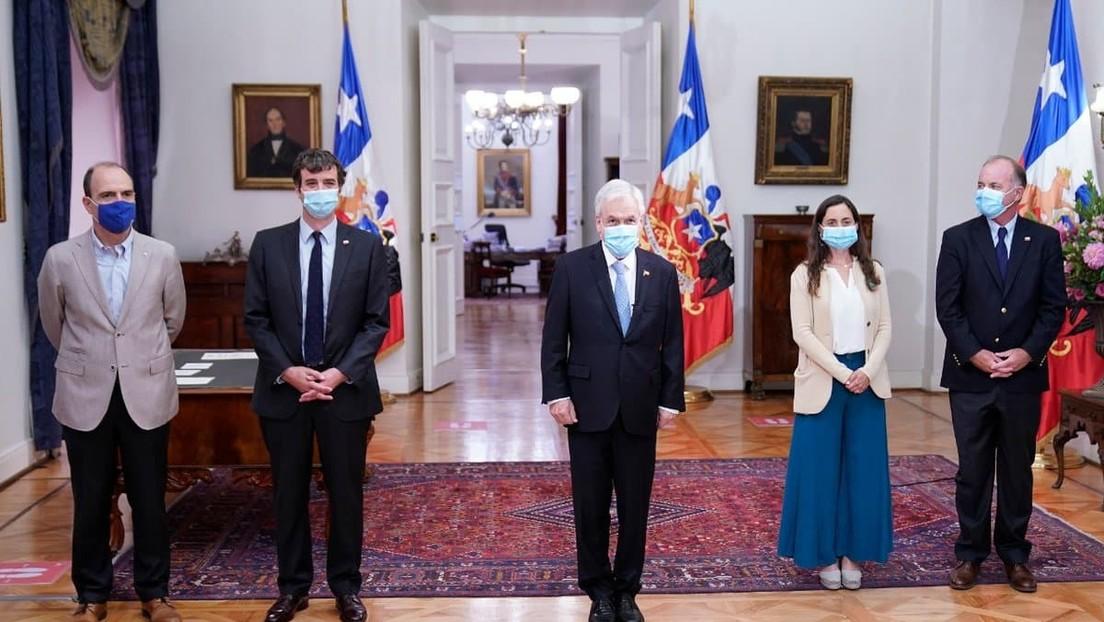 Piñera cambia a dos miembros de su Gabinete que serán candidatos a la Convención Constituyente en Chile