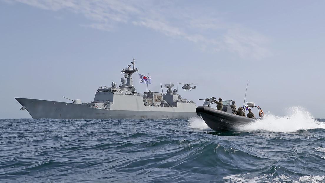 Corea del Sur despliega un destructor en el estrecho de Ormuz tras la incautación de su petrolero por Irán