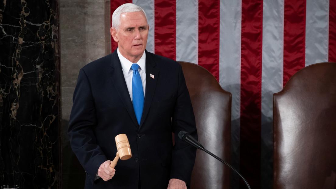 """El vicepresidente de EE.UU. condena los ataques al Capitolio y promete castigar a los responsables """"con todo el peso de la ley"""""""
