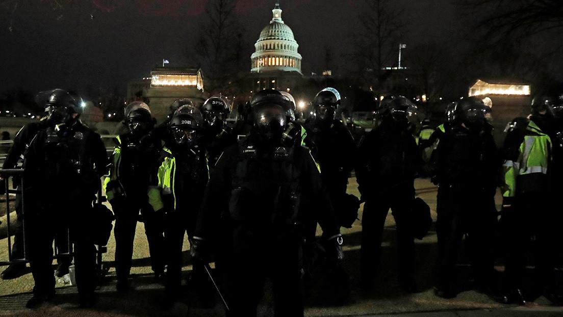 Reportan que los líderes del Congreso están siendo evacuados del Capitolio hacia un puesto del Ejército
