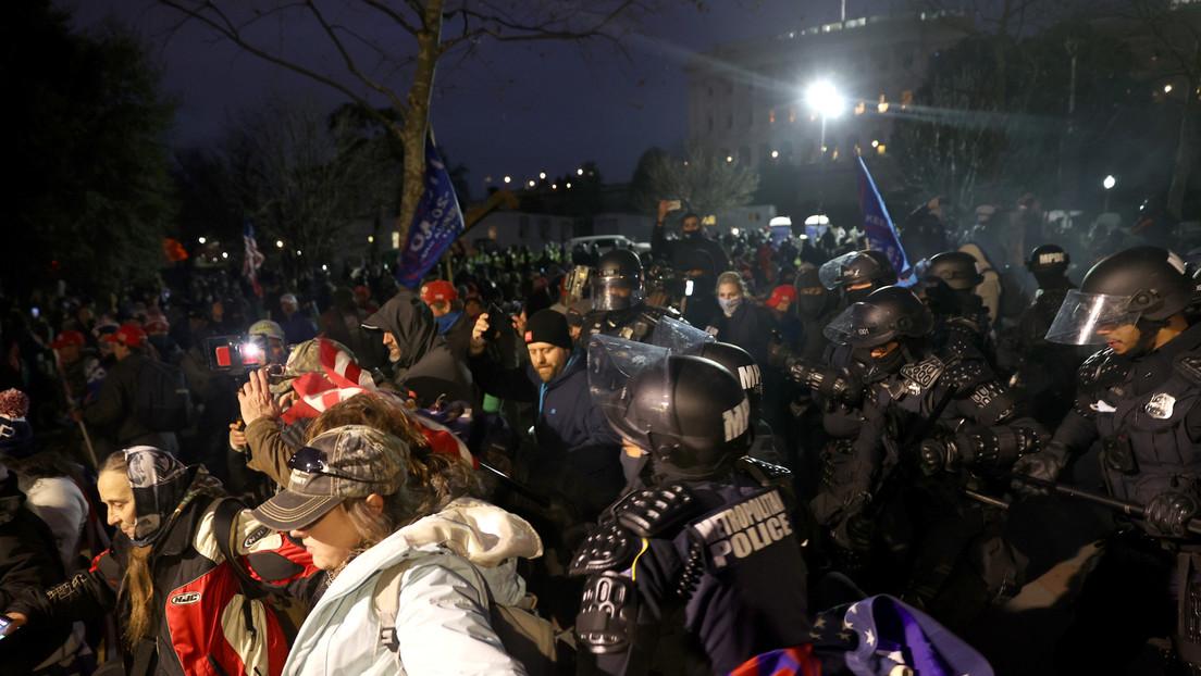 Las redes reaccionan frente a los hechos más raros de las protestas en Washington