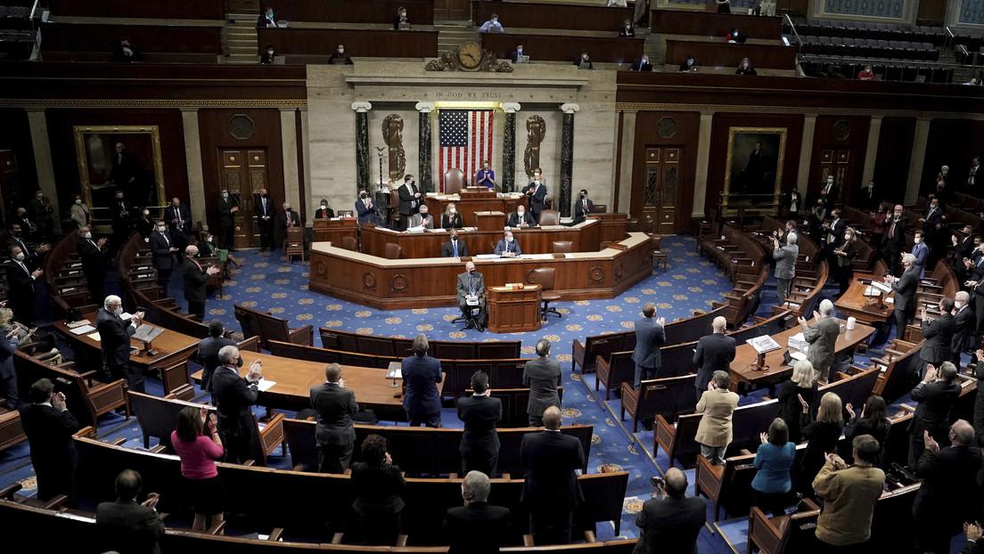 El Senado de EE.UU. rechaza una objeción republicana a la certificación de Biden