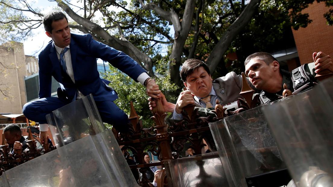 """Twitter incluye a Guaidó entre los """"líderes mundiales"""" que condenan la toma del Capitolio (y olvida su intento de asaltar el Parlamento de Venezuela)"""
