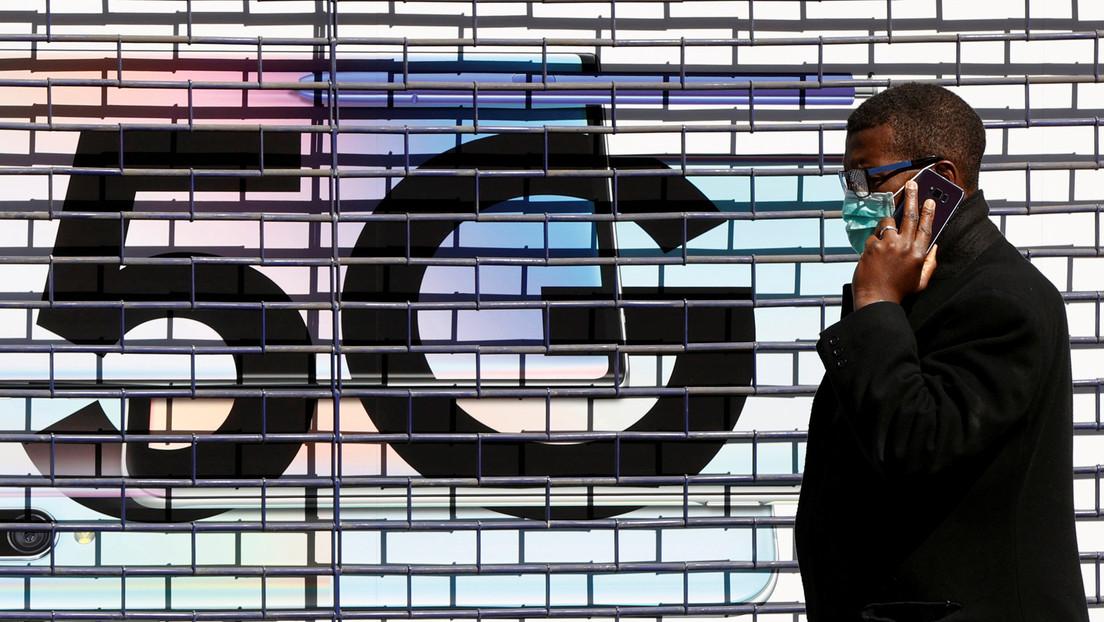 """Teóricos de conspiración difunden un esquema del """"chip 5G del covid-19"""" (pero resultó ser algo muy diferente)"""