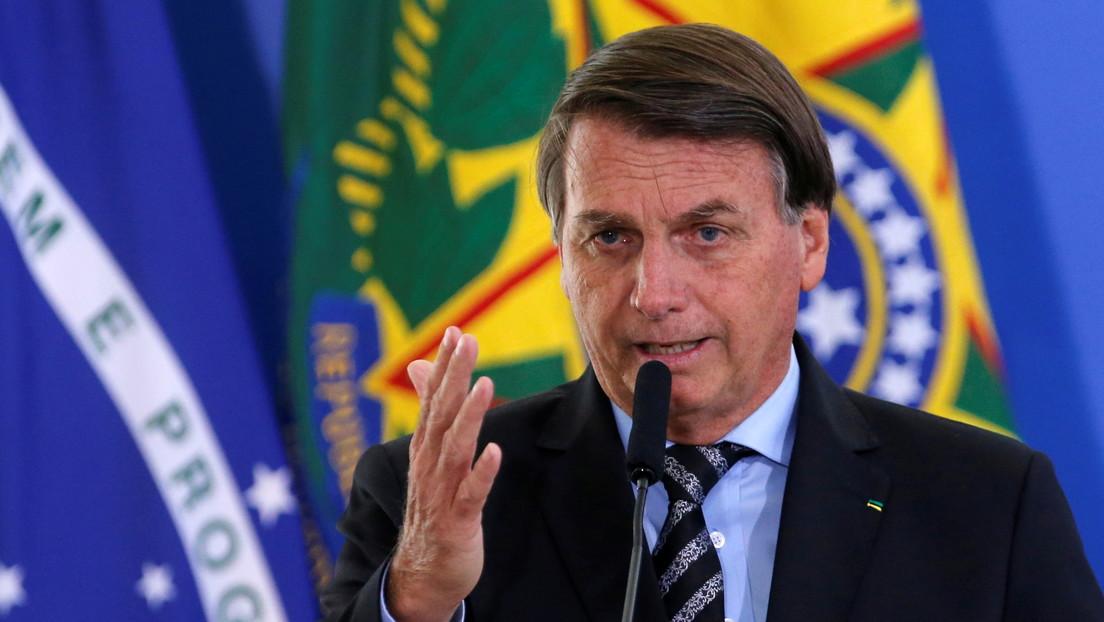"""Bolsonaro sostiene que hubo fraude en las elecciones de EE.UU. y advierte que Brasil podría tener un """"problema peor"""" en 2022"""