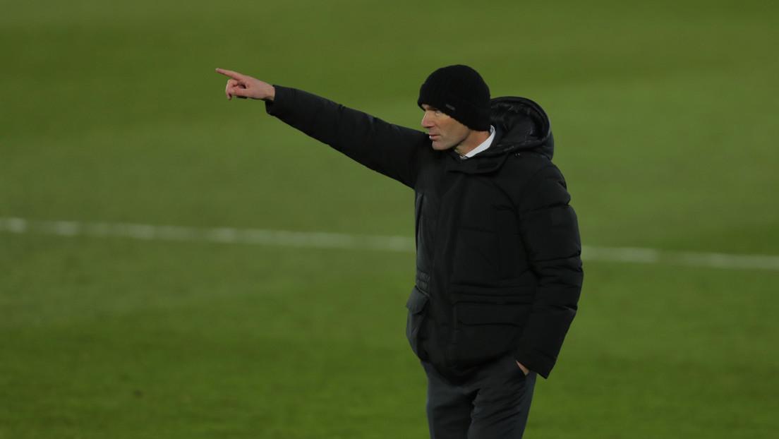 Zidane, en cuarentena por contacto con un positivo de covid-19