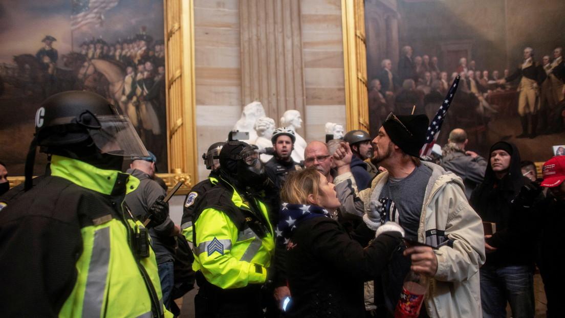 """""""Todas las opciones sobre la mesa"""": La Justicia de EE.UU. podría acusar de sedición e insurrección a los atacantes del Capitolio"""