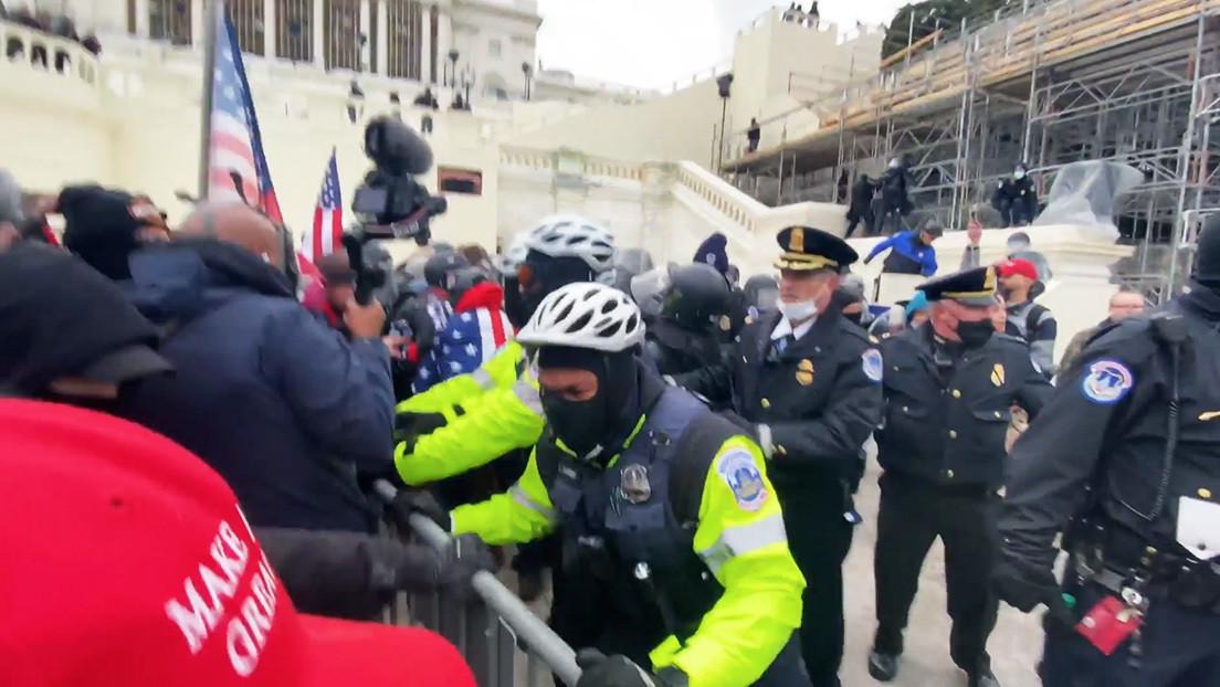 VIDEO: Así se desencadenó el violento asalto al Capitolio de EE.UU.