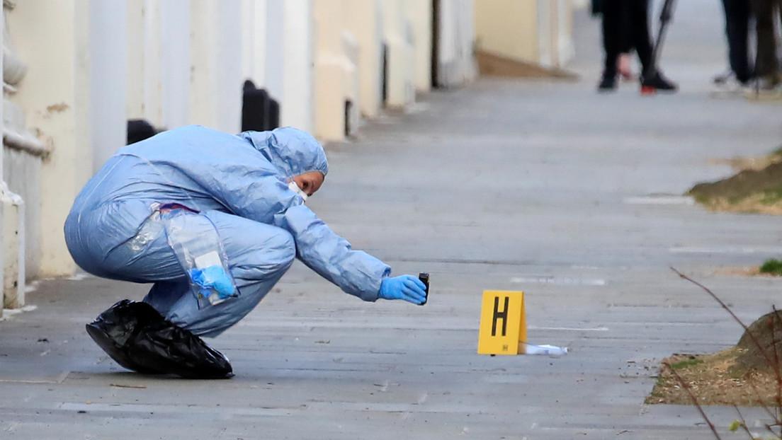 FOTO: Policías se movilizan tras el hallazgo de un 'dedo humano' que resulta ser otra cosa