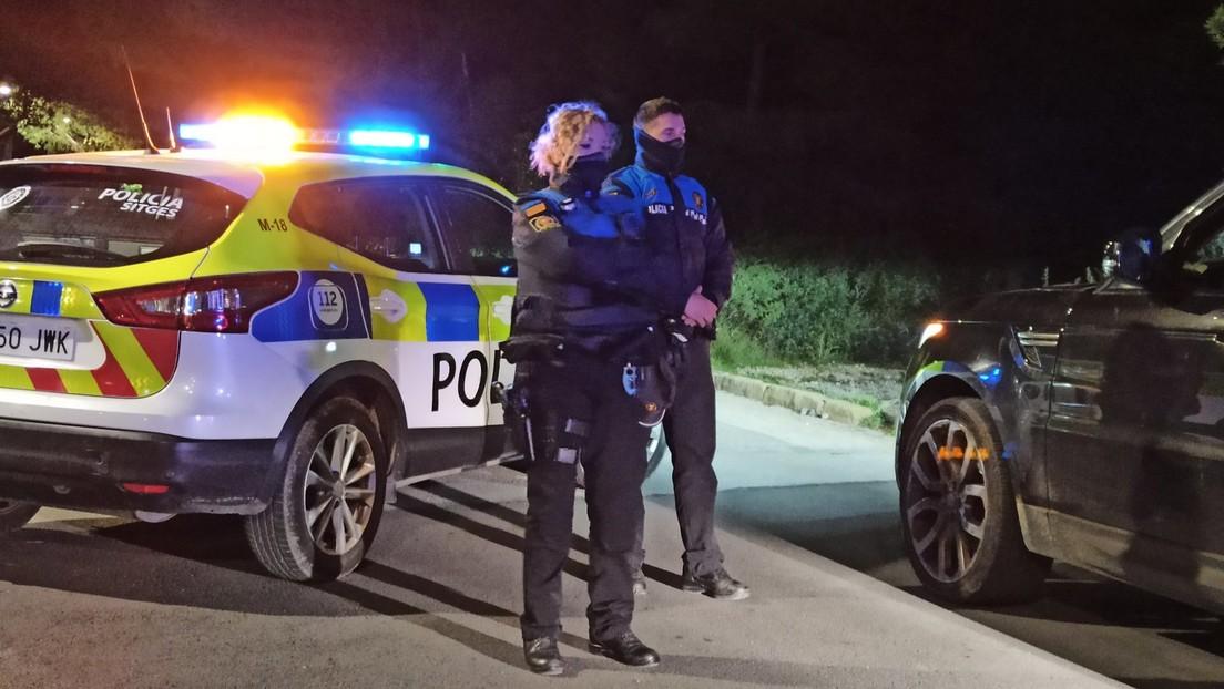 La Policía intercepta en España un coche conducido por un niño de nueve años