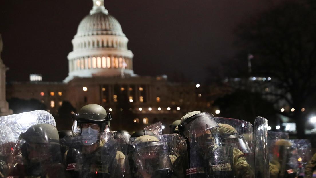 Evalúan que la Guardia Nacional de EE.UU. porte armas de fuego en los días previos a la toma de posesión presidencial