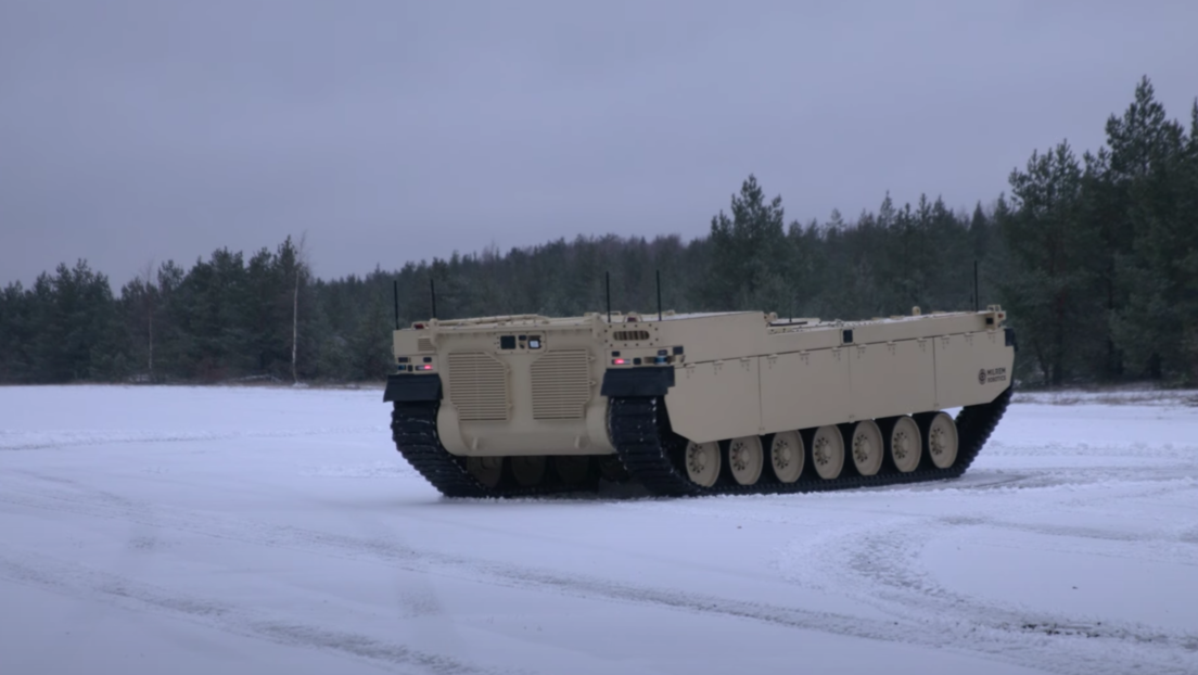 VIDEO: Crean un prototipo de tanque no tripulado capaz de soportar unidades mecanizadas
