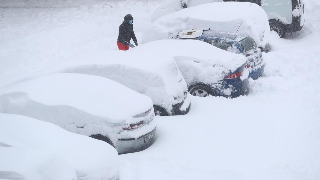 La histórica nevada en España, la más intensa registrada desde 1971, en  imágenes - RT