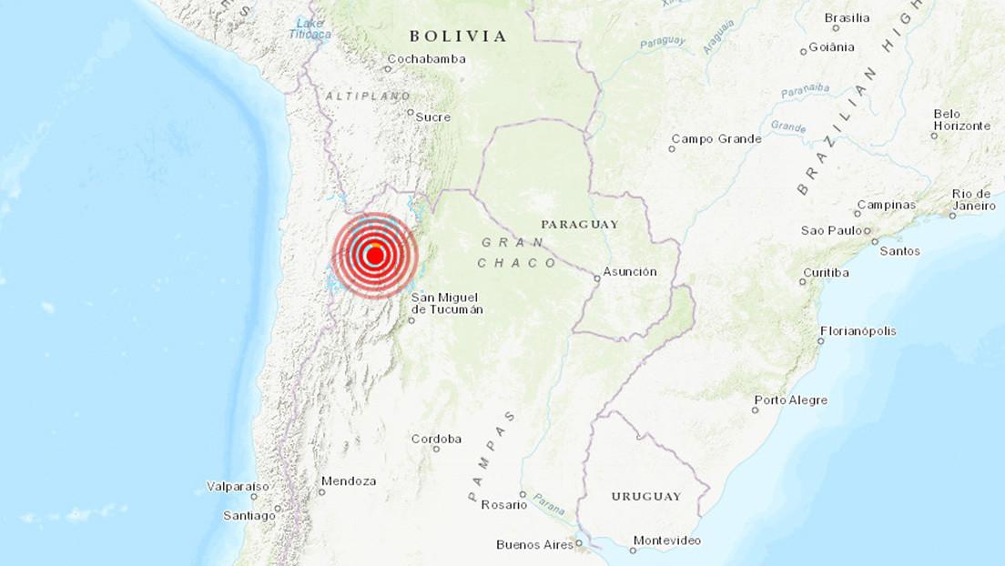 Se registra un terremoto de magnitud 6,1 en Argentina