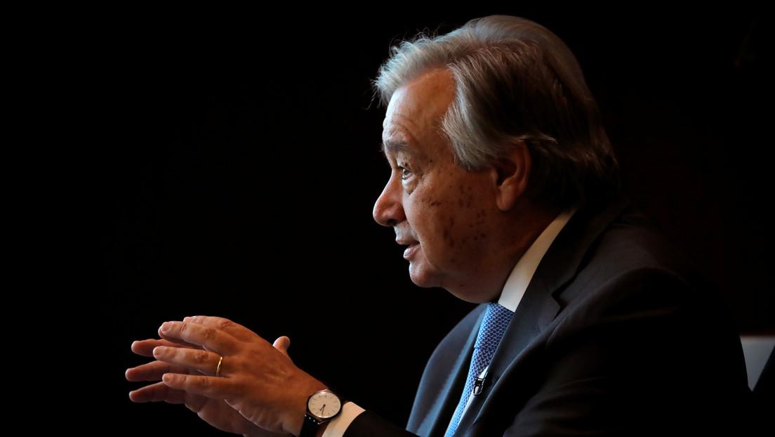 """El jefe de la ONU acusa a los países ricos de """"nacionalismo de vacunas"""""""