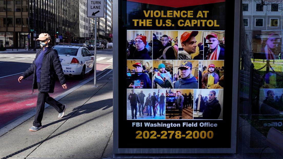 El FBI habría alertado a la Policía del Capitolio sobre la posibilidad de violencia en las protestas
