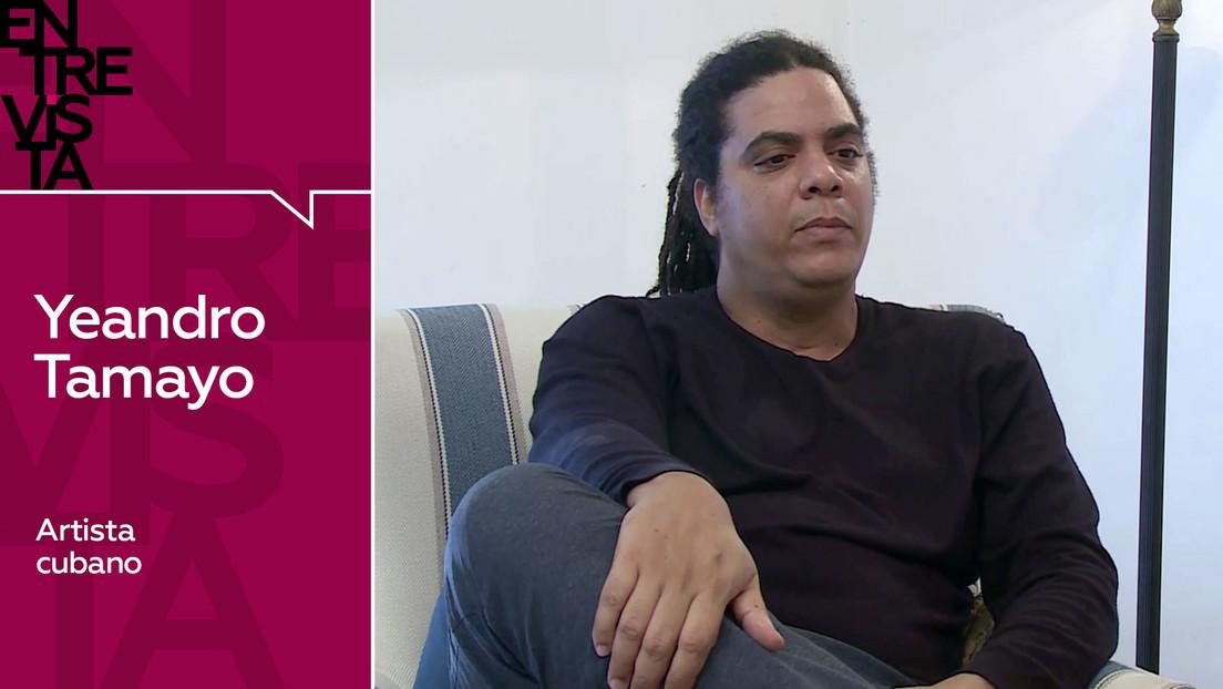 """Artista cubano Yeandro Tamayo: """"Trato de evitar el ego, aunque lo tengo"""""""