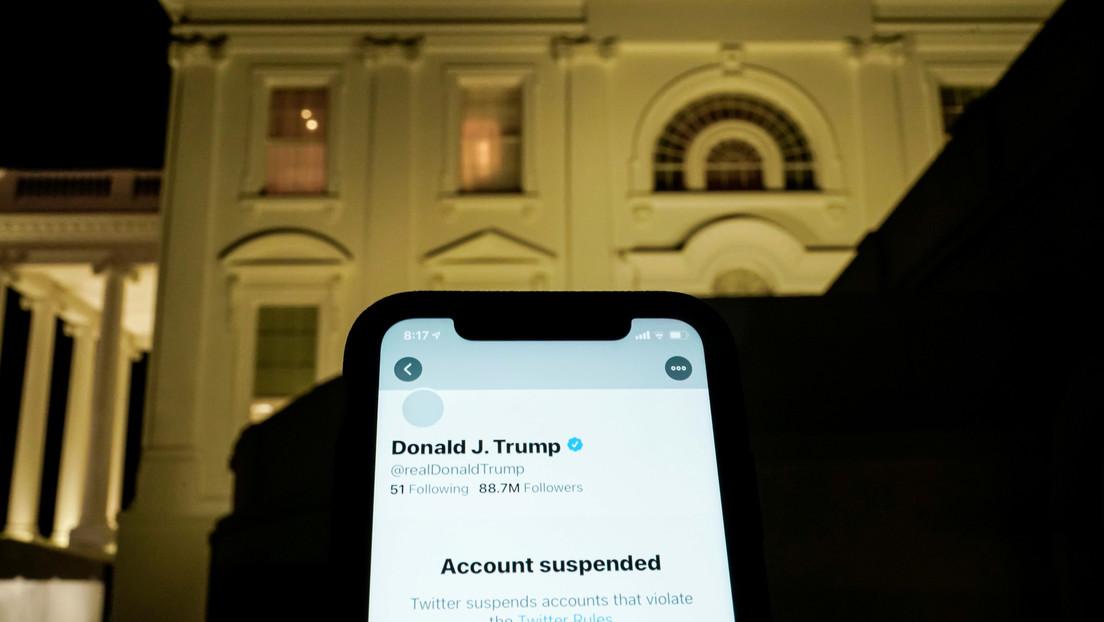 El valor de Twitter cae más del 10 % tras bloquear la cuenta de Trump