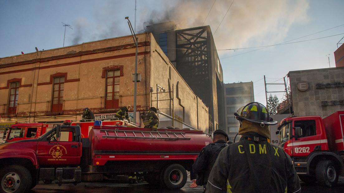 Las imágenes tras un incendio en el metro de Ciudad de México que afectó a más de un millón de usuarios