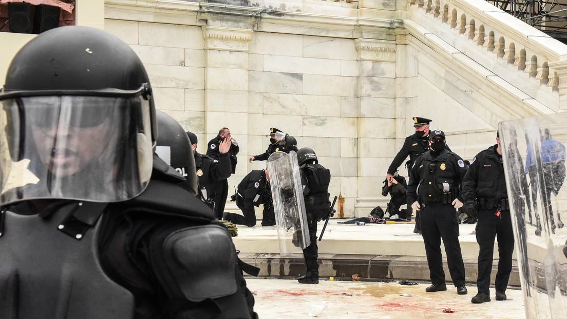 Se suicida tres días después de la irrupción en el Capitolio de EE.UU. un policía que participó en los enfrentamientos