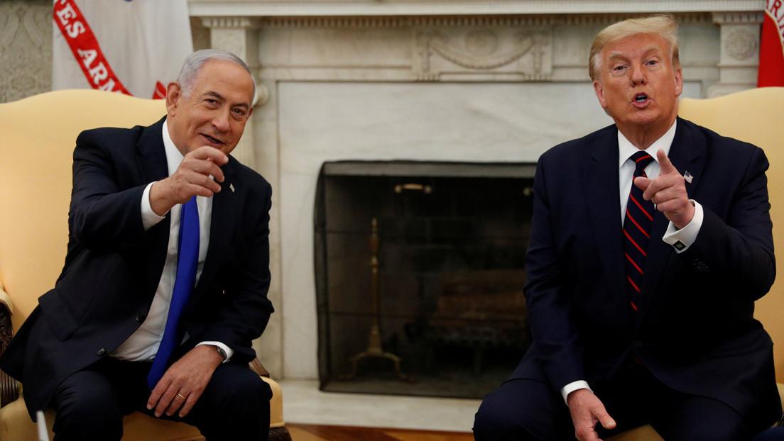 Netanyahu elimina una foto conjunta con Trump de su portada en Twitter