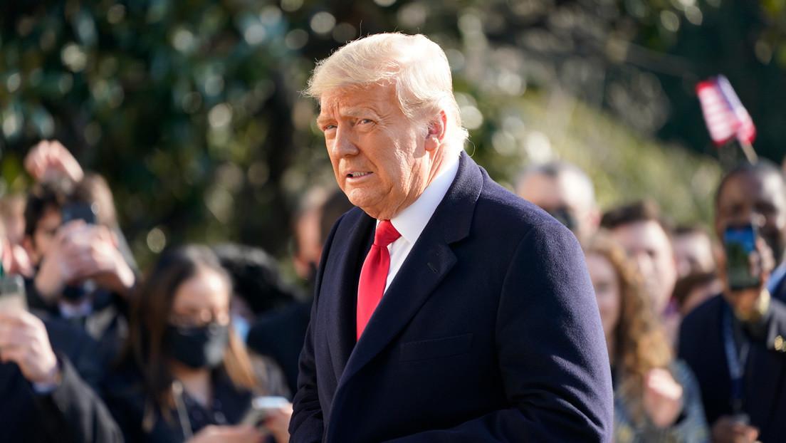 Trump dice que el proceso de juicio político provoca mucha ira, pero no quiere violencia