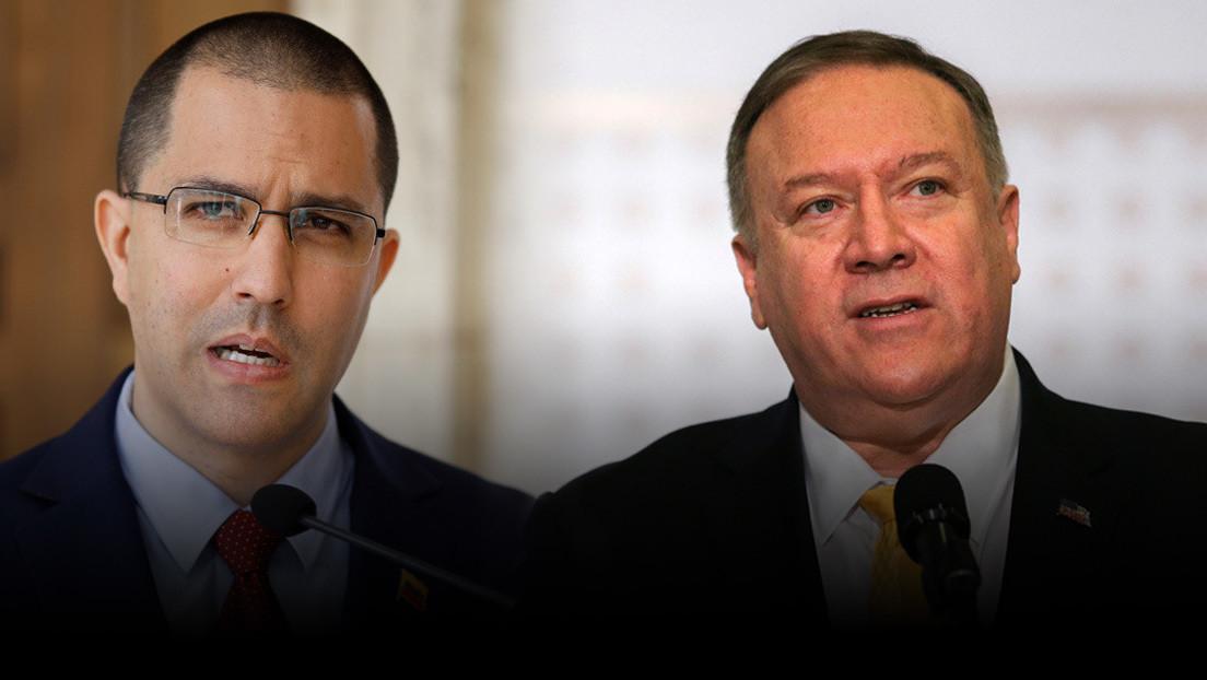 Pompeo celebra la incautación de más de 40 millones de dólares en combustible destinados a Venezuela y Arreaza responde