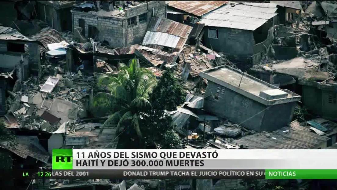 11 años del sismo que devastó a Haití y dejó 300.000 muertos