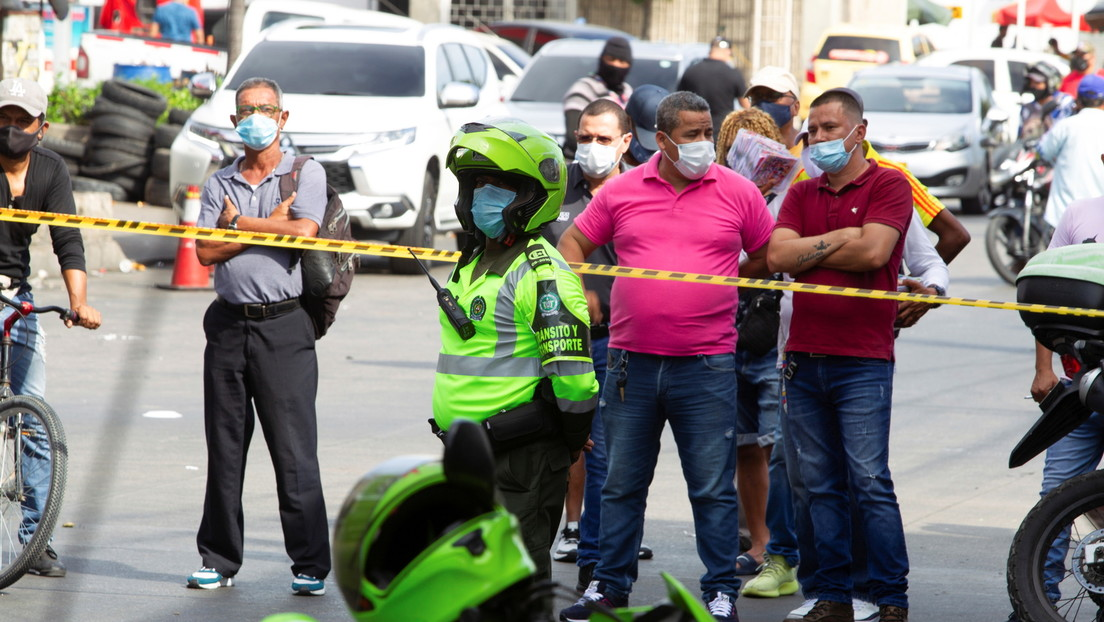 Un atentado con una granada en la ciudad colombiana de Barranquilla deja 14  lesionados - RT