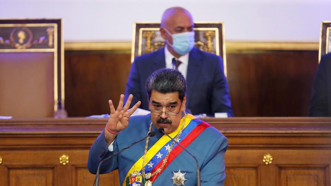 Rescate de activos confiscados, reactivación económica y lucha contra la pandemia: Los temas claves del mensaje de Maduro ante el Parlamento