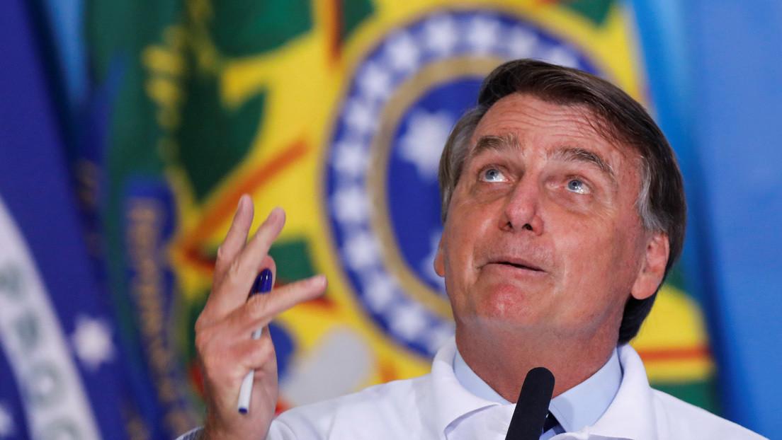 """""""¿Esa de 50 % es buena?"""": Bolsonaro ironiza sobre la eficacia de la vacuna china CoronaVac tras conocerse los resultados de las pruebas en Brasil"""