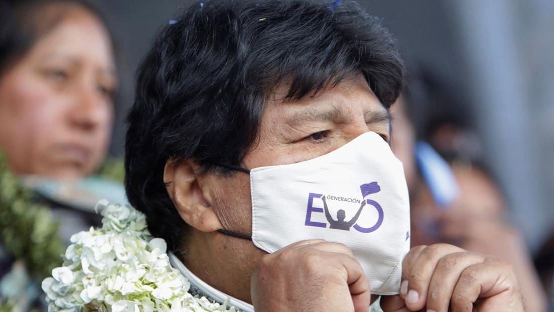 Evo Morales da positivo en covid-19 y se encuentra estable