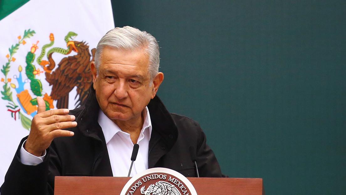 """López Obrador, sobre la censura a Trump en las redes sociales: """"La Estatua de la Libertad en Nueva York se está poniendo verde de coraje"""""""